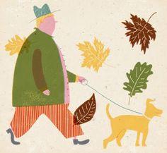 Pinzellades al món: Un passeig en la tardor / Un paseo en otoño / A walk in autumn | Barbara Dziadosz.| Barbara Dziadosz.