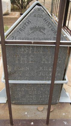 Billy The Kid's Original Gravemarker