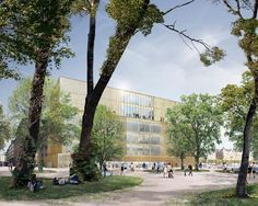 Chipperfield's Nobel Center set for construction as Stockholm county throws out appeals