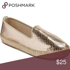 Dolce Vita Gold Espadrilles Brand new without tags. DV by Dolce Vita metallic gold espadrilles flats. Size 7.5. Dolce Vita Shoes