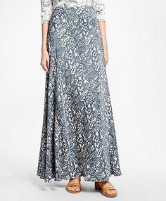 Silk Crepe Print Maxi Skirt  https://api.shopstyle.com/action/apiVisitRetailer?id=511997754&pid=uid2500-37484350-28