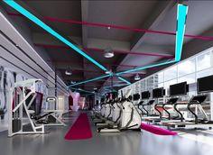 Verlichting fitnessruimte :-) ...