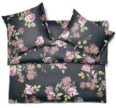 Elegant Floral Duvet Covers & Bedding - Schlossberg Sophia Noir