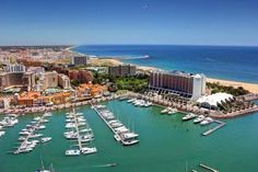 Algarve: Vilamoura beach & marina (harbour) #Portugal