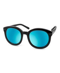 Love this Teal Betty Sunglasses on #zulily! #zulilyfinds