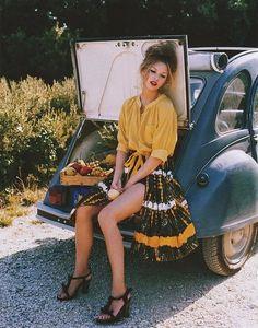 Distressed #yellow #fashion