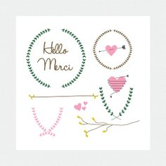 Rustic Arrows And Heart Clipart