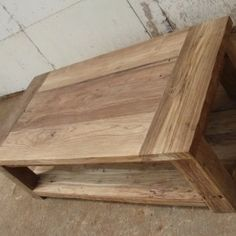 Rustic-Recycled-Teak-Double-Coffee-Table-0