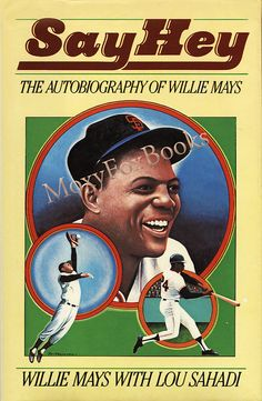 """SOLD ! Signed Edition WILLIE MAYS Black Athlete Baseball Autobiography for $49.00. Negro Leagues New York Giants World Series Catch 1988  Free US Shipping  Mays emerges as one of the most kindhearted of men. A pro at age 14, he played for the Birmingham Black Barons of the Negro Leagues against stars like Satchel Paige and """"Cool Papa"""" Bell. At 20, he joined the New York Giants.  #baseball #book #Willie Mays #signed…"""