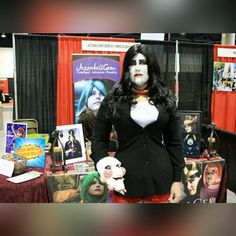 My billy the puppet costume at 2050 last weekend. This is holding me over until I get some pro shots back from @stacston ! by jezzabellgem