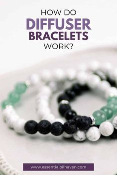 Essential oil bracelets are a fun and trendy fashion accessory for anyone that loves and appreciates essential oils in their life. How do diffuser bracelets work? Where do the oils go? Which oils should you use on your aromatherapy bracelet? Start here to learn the basics about essential oil bracelets. #essentialoils #diffuserbracelet #aromatherapy #essentialoilhaven Essential Oils For Anxiety, Essential Oil Scents, Essential Oil Bottles, Essential Oil Uses, Essential Oil Diffuser, Best Essential Oils, Essential Oil Jewelry, Amber Glass Bottles, Diffuser Jewelry