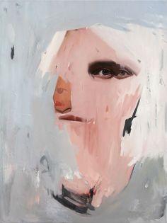 Artist Emilio Villalba Talk To ME, 24x18in, oil on canvas, 2016