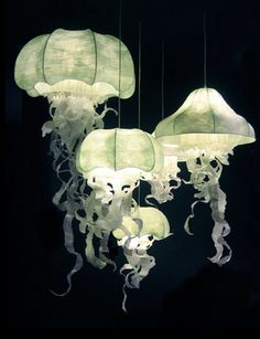 Awesome jellyfish lampshade