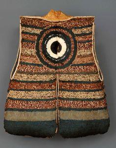 Jimbaori (samurai battlefield vest) Edo period, 17th century, Japan Hand applied feathers, silk, and fabric H: 31-1/2 x W: 28-1/3 in. (80 x ...