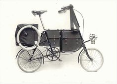 Fongers 1909 military folding bike