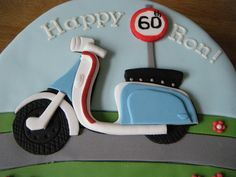Scooter Cake (5) | Flickr - Photo Sharing!