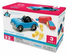 Battat Take A Part Roadster on amazon today for $20.01 & eligible for Free super saver shipping more on our website at www.ddsgiftshop.com