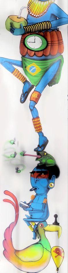 A MaxHaus criou uma ação super bacana dentro do fosso do elevador do seu empreendimento MaxHaus Panamby: um grafite de 80m (que é visualizado na parede do fosso do elevador por causa das cabines transparentes). O projeto de 5 anos, que tem parceria e curadoria de Allan Szacher da Zupi, começou a ser produzido em …