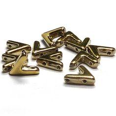 """AVA® bead """"00030-26440"""" Crystal Full Amber, 10*4 mm, 5 st hos fruparla.se"""