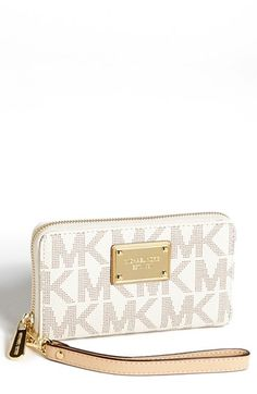 HAPPY BIRTHDAY TO ME;-)     MICHAEL Michael Kors Phone Wristlet available at #Nordstrom