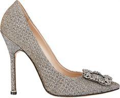 Sapatos de noiva Manolo Blahnik 2016: o máximo glamour para os seus pés Image: 7