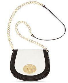 e1b3f43e62ce Emma Fox Classics Leather Flap Crossbody   Reviews - Handbags   Accessories  - Macy s