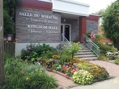 Kingdom Hall of Jehovah's Witnesses 1292 Lloyd George Verdun, QC Canada  Home of two congregations. English group is known as Verdun congregation and the French group is known as Champlain congregation.  See www.jw.org for more details.