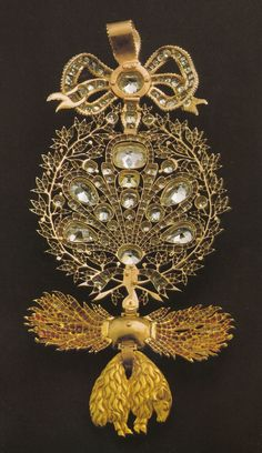 Order of the Golden Fleece (Spanish) - Insignia belonged to Infant D. Miguel of Portugal (18th century) (reverse)