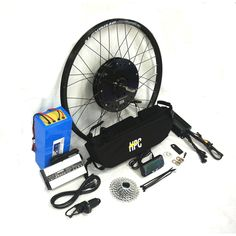 Black Lightning Electric Bike Conversion E Bike Kit