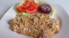 Joghurtos csirkemell zabpehely bundában - Fit Nutrition Bay - Egészséges és finom receptek színtere.