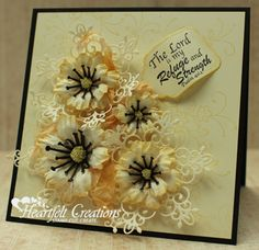 Heartfelt Creations | Yellow Delight Arianna Blooms Card