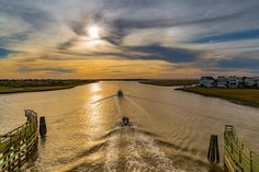 Intracoastal Waterway #sullivansisland #mtpleasant #intracoastalwaterway #boating #bensawyerbridge #charleston