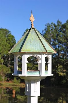 Heartwood You and your birds will savor this splendid feeder from every angle. As a dining space, it's roomy and completely inviting; as a yard or garden addition, it's utterly charming and completely