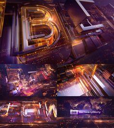 VESTI SATURDAY by Tv Concept, via Behance