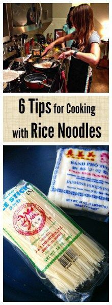 Learn how to finally make perfect rice noodles for all your favorite Asian noodle dishes, since rice noodles can be so tricky to work with! | thai-foodie.com