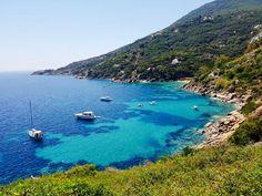 Most beautiful beaches in Tuscany / Spiagge più belle della Toscana: Le Caldane, Isola del Giglio