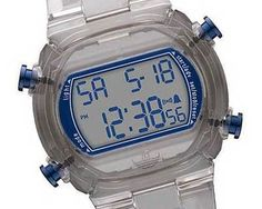 Adidas Unisex Nylon Candy Digital Grey Dial Watch $42.94…