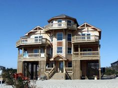 Outer Banks Vacation Rentals | Salvo Vacation Rentals | Outlasting the Blues #642 |  (5 Bedroom Semi-Oceanfront House)