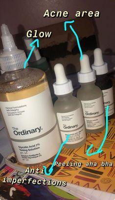 The ordinary skincare routine – acrylic nails – beauty skin care The Ordinary Skincare Routine, Healthy Skin Care, Healthy Beauty, Face Skin Care, Acne Prone Skin, Acne Skin, Tips Belleza, Facial Care, Beauty Skin
