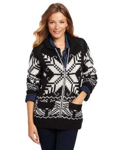 Coupe Collection Women's Lisa Sweater Coupe Collection. $42.22. Machine Wash. Snowflake sweater with shawl collar, zip down zipper with side pockets with a rib at the waist and at the sleeves. Zip down sweater with regular fit and with label at the back neck. 76% Acrylic/24% Wool