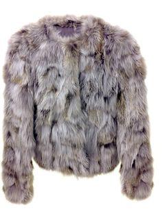 Fox Pieces Light Grey Jacket