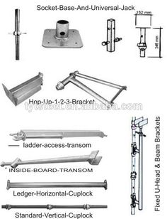 Related image Scaffolding Materials, Tools, Image, Instruments