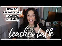 I have put together some tips that might not be the first things you think about... Teaching Interview, Interview Advice, Your Teacher, School Teacher, Education World, Phone Interviews, Future Videos, Classroom Community, Put Together