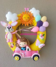 444 Likes, 13 Comments – Pinke Hobbies Pinke Widder ( Hobbies) auf Ins … – diy Felt Mobile, Baby Mobile, Handmade Crafts, Diy And Crafts, Crafts For Kids, Baby Crafts, Felt Crafts, Felt Doll House, Felt Name Banner