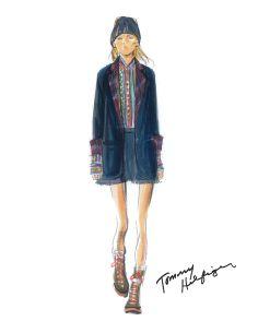 """Designer Inspirations for Fall 2014: Tommy Hilfiger """"Explorer."""""""