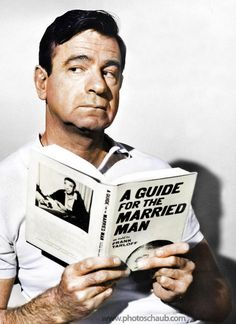 """Walter Matthau reads, """"A Guide for the Married Man"""""""
