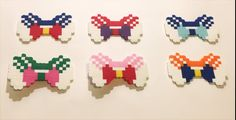 Sailor Moon Perler Bow
