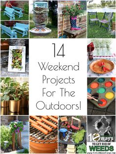 14 DIY Outdoor Weekend Projects