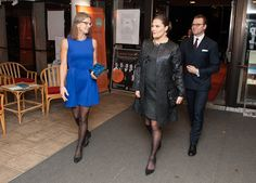 On November 07, 2015, Crown Princess Victoria of Sweden and Prince Daniel attended the aid concert 'Playing for Life' for refugees in Europe in Berwaldhallen. Musicians from The Swedish Radio Symphony Orchestra and The Royal Stockholm Philharmonic Orchestra performed with the Radio Choir and soloists, at the program was music from Tormis, Brahms, Mahler, Leoncavallo, Fröst, Mozart, Strauss and Massenet.