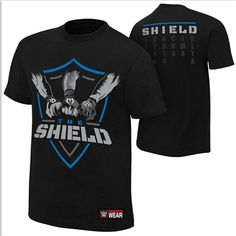 Shop WWE T-shirts and wrestling tees at the official WWE Shop. Wear your favorite Superstar The Official WWE Shop Wwe Shirts, Wrestling Shirts, Divas, Wwe T, Wwe Seth Rollins, The Shield Wwe, Lists To Make, Mac, Tees